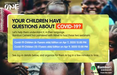 children covid 19 webinars