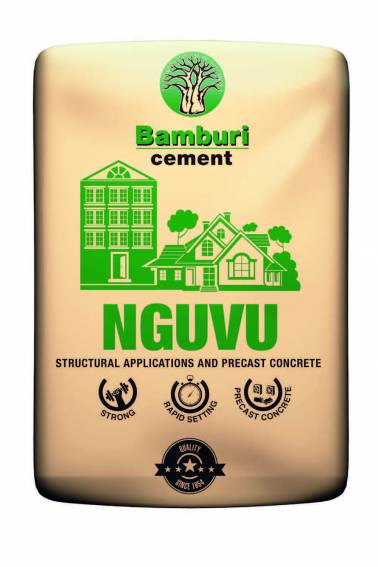 Nguvu Cement new pack